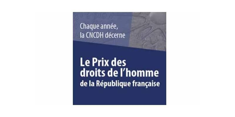 2019 HUMAN RIGHTS PRIZE OF THE FRENCH REPUBLIC